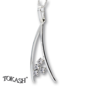 Silver pendants with CZ - 174684