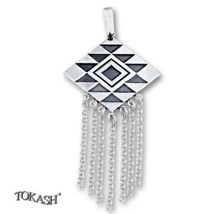 Silver pendants without CZ - 172228