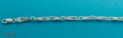Silver necklace 708095