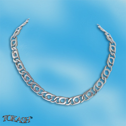 Silver necklaces - 700029
