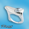 Silver rings with CZ - 1584773