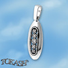 Silver pendants with CZ - 174073