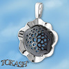 Silver pendants without CZ - 172067