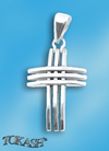 Silver crosses - 177190