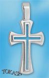Silver crosses - 177593