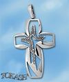 Silver crosses - 177528